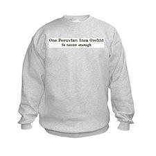 One Peruvian Inca Orchid Sweatshirt