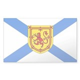 Nova Scotia Rectangle Decal