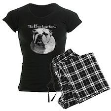 BulldogHappydark.png Pajamas