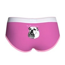 BulldogHappydark.png Women's Boy Brief