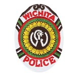 Wichita Police Oval Ornament