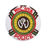 Wichita Police Ornament (Round)