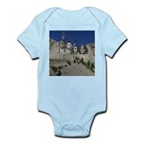 Native Mt. Rushmore Onesie