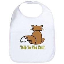 Orange & White Cat Bib