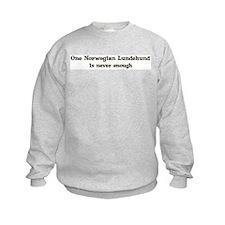 One Norwegian Lundehund Sweatshirt