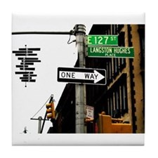 Langston Hughes Place Tile Coaster