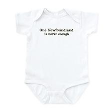 One Newfoundland Infant Bodysuit