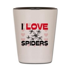 SPIDERS12955 Shot Glass