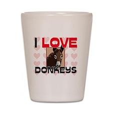 DONKEYS105295 Shot Glass
