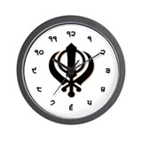 Unique Punjabi Wall Clock