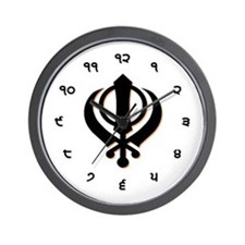 Cute Singh Wall Clock