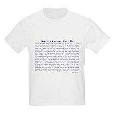 Theatre Life Kids T-Shirt