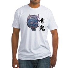 Fitted Blue Demon T-Shirt