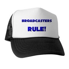 3-BROADCASTERS142 Trucker Hat