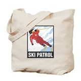 Ski Patrol Tote Bag