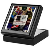Big Apple Jazz Keepsake Box