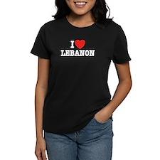 I Love Lebanon Tee