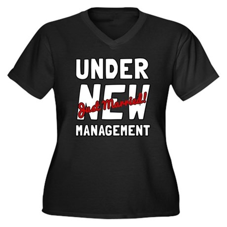 Under New Management Plus Size T-Shirt
