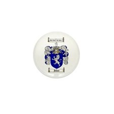 Jones Coat of Arms / Family Crest Mini Button (10