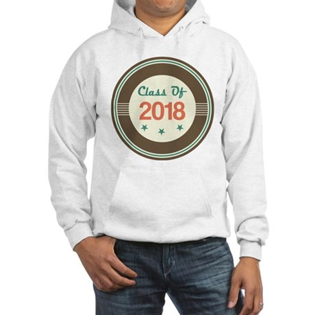 Class of 2018 Vintage Hooded Sweatshirt