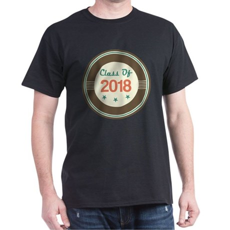 Class of 2018 Vintage Dark T-Shirt