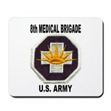 8TH MEDICAL BRIGADE Mousepad