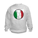 Italy Soccer Kids Sweatshirt