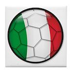 Italy Soccer Tile Coaster