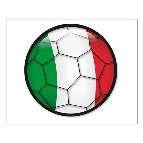 Italy Soccer Small Poster