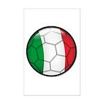 Italy Soccer Mini Poster Print