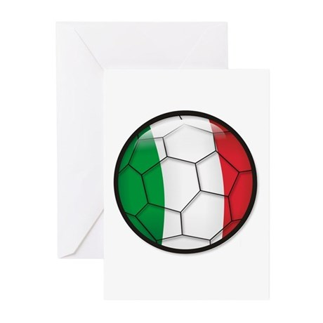 Italy Soccer Greeting Cards (Pk of 10)