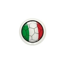 Italy Soccer Mini Button (10 pack)