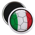 """Italy Soccer 2.25"""" Magnet (100 pack)"""