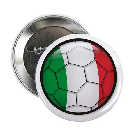 "Italy Soccer 2.25"" Button (10 pack)"