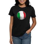 Italy Soccer Women's Dark T-Shirt