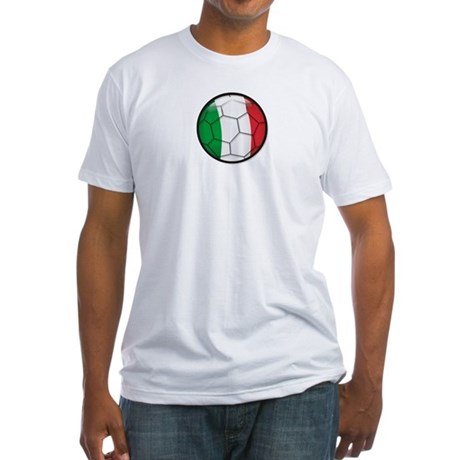Italy Soccer Fitted T-Shirt