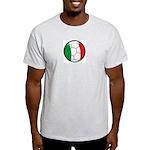 Italy Soccer Ash Grey T-Shirt