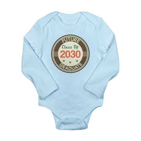 Future Grad 2030 Vintage Long Sleeve Infant Bodysu