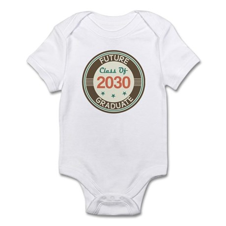 Future Grad 2030 Vintage Infant Bodysuit