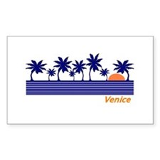 Venice, Florida Rectangle Decal