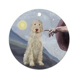 Creation of the Spinone (#12) Ornament (Round)