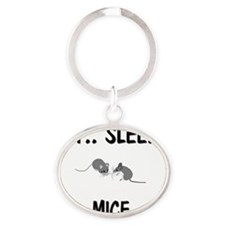 MICE893 Oval Keychain