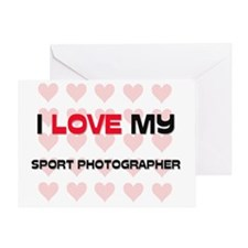 SPORT-PHOTOGRAPHER54 Greeting Card