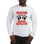 Bible Quran WMD Shirt (Grey LS) M