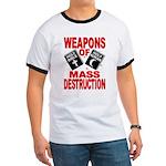 Bible Quran WMD T-Shirt (Ringer)