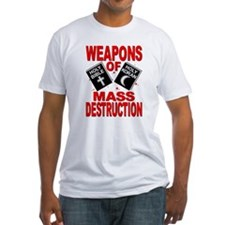 Bible Quran WMD T-Shirt (Fitted)