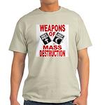 Bible Quran WMD T-Shirt (Grey) M