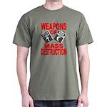 Bible Quran WMD T-Shirt (Green) M