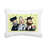 Mazzeltov Jewy Louis Rectangular Canvas Pillow