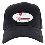 I Heart My Mommy Baseball Hat